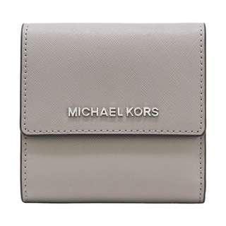 Michael Kors Jet Set Travel Small Carryall Wallet Grey