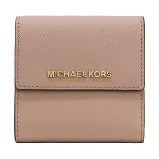 Michael Kors Jet Set Travel Small Carryall Wallet Fawn