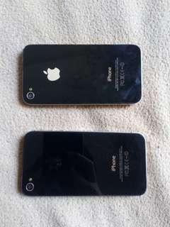 Iphone 4 & iPhone 4s for parts only