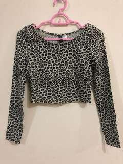 Animal Print Crop Top (Leopard)