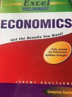 Preliminary HSC economics excel textbook