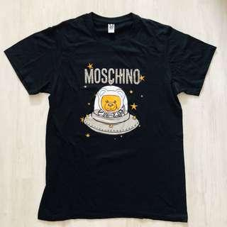 (READY STOCKS) black moschino tshirt size L