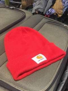 Carhartt red beanie