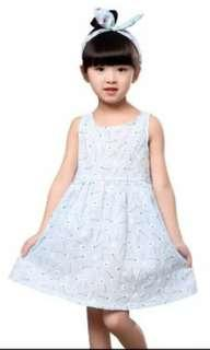Dress import Baby blue