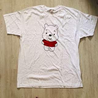 (READY STOCKS) winnie the pooh tshirt size XL