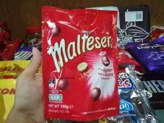 Malteasers in a pouch