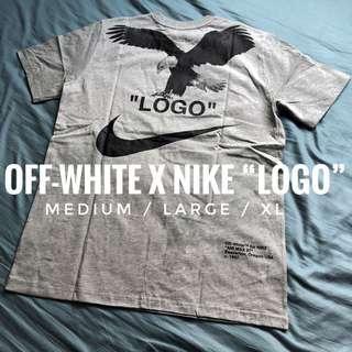 """Off-White x Nike """"LOGO"""" Tee"""
