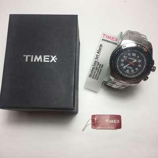 Timex Alarm vibration steel watch