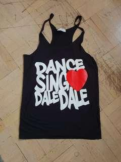 Orig Auth Zumba Artiste Dance Dale Dale long tank top