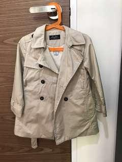 Authentic Preloved Zara Trench Coat from France