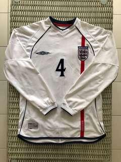 Umbro💯% Authentic home England jersey w 'Gerrard 4' nameset for SGD$57 (size S)