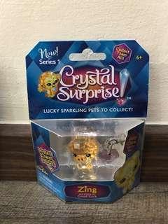 Set of 5 crystal figurine