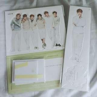 Exo (M) Nature Republic Standee and Stationery Set + Chen Standee