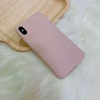 BN Pale Pink iPhone XS/XR Max Silicone Case