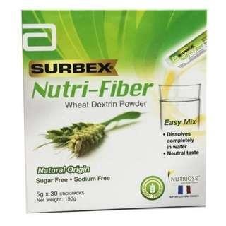 Subrex Nutri-Fiber Wheat Dextrin Powder (5g x 30) (New)