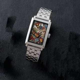 鋼鐵俠 MARVEL COMICS高級方形鏡框腕錶 抓樂霸 toreba 景品 (日本直送)