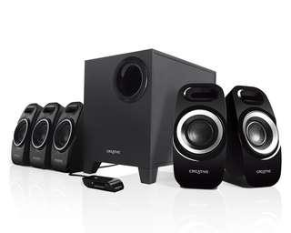 Creative Inspire T6300 5.1 Surround Sound Speaker System for PC or TV