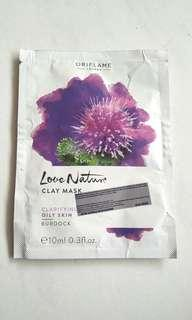 Oriflame Love Nature Clay Mask - Burdock