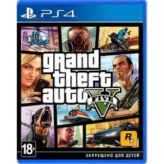 [New] GTA V PS4 CD Game