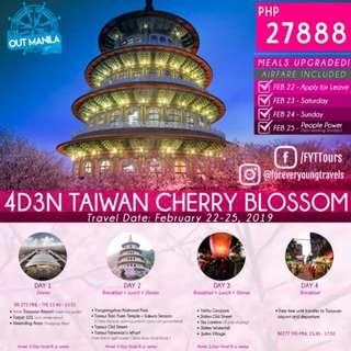 4D3N TAIWAN CHERRY BLOSSOM PACKAGE
