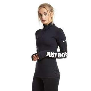 Nike Pro JDI long sleeve zip up top