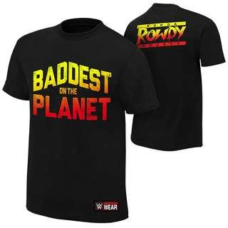 WWE Authentic Ronda Rousey Official Tshirt