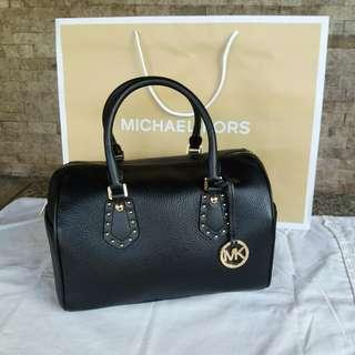 MICHAEL KORS Aria Leather Handbag
