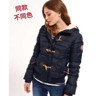 🚚 英國 Superdry Puffle Jacket 極度乾燥 羽絨外套/短版/牛角扣