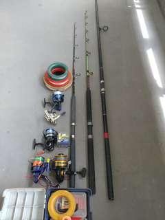 Fishing rot