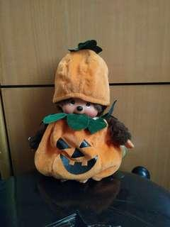 Monchhichi monchichi halloween pumpkin