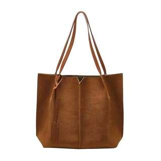 548233dc846a Large Minimalistic Leather Tote