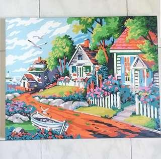 •INSTOCK• PAINTED DIY COUNTRY SIDE HOUSE DECORATIONS