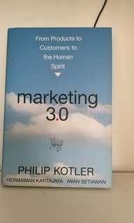 Buku marketing 3.0 phillip kotler dan hermawan kartajaya