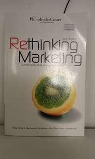 Buku rethinking marketing phillip kotler hermawan kartajaya