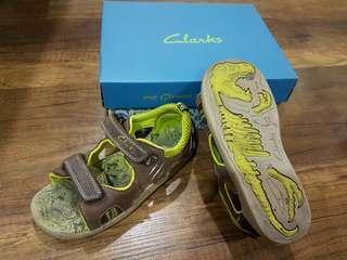 Clark's kids StompWave dinosour sandals