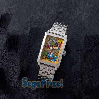 蟻俠 MARVEL COMICS高級方形鏡框腕錶 抓樂霸 toreba 景品 (日本直送)
