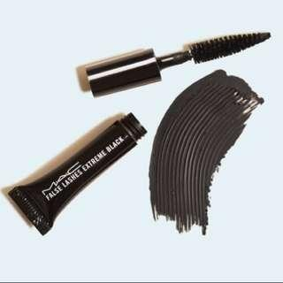 MAC False Lashes Extreme Black 1g