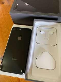 99%new(with case) iPhone 8 Plus Black 256G 連盒 全新耳機 全新差電線
