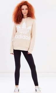 Adidas Originals Trefoil Hoodie (Linen Colour)