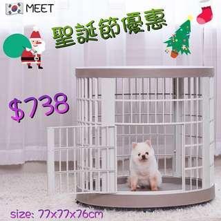 韓國🇰🇷MEET 圓形樹脂寵物籠 MEET-207