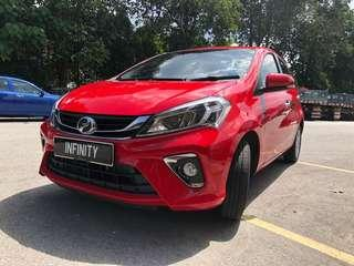 GrabCar for Rental - Myvi