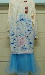 [Free postage] MINAZ Jasmine kurung luxe XL (NWT)