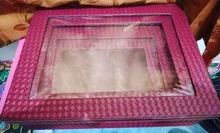 Box Seserahan Rotan Acrylic 2 Set