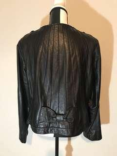 Blink by Danier Leather Jacket with Bow (Large)
