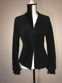 Unique Danier Suede Jacket with Lace