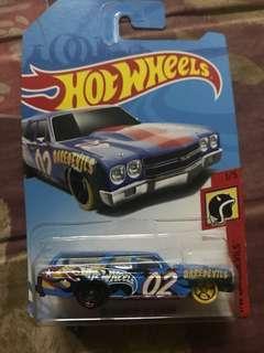 Hot wheels daredevils 70 chevelle ss wagon