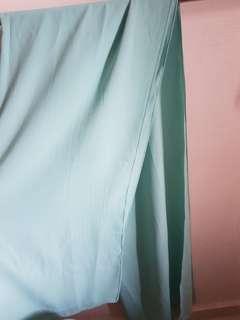 Bubble chiffon shawl