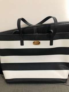 Original Michael Kors Jet Set Medium Stripe Travel tote bag