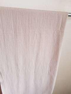 Long bubble chffon shawl