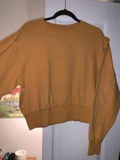 Fave mustard sweater